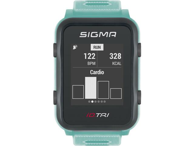 SIGMA SPORT iD.TRI Basic Multisport Horloge, neon mint